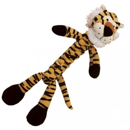Kong braidz tigre juguete de felpa