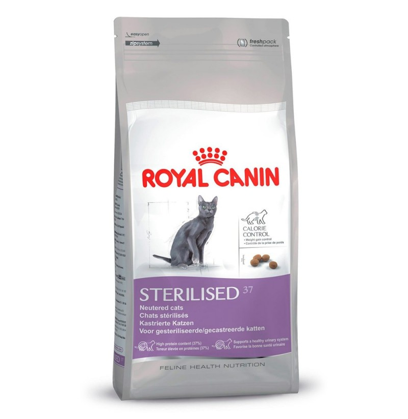 royal canin gato esterilizado 37 sterilised tienda online para mascotas. Black Bedroom Furniture Sets. Home Design Ideas