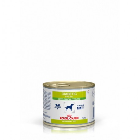 Royal canin wet canine diabetic lata