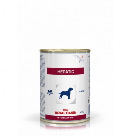 Royal canin wet canine hepatic lata