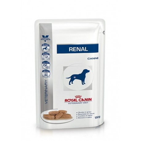 Royal canin wet canine renal sobre