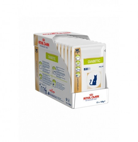 Royal canin wet feline diabetic sobre