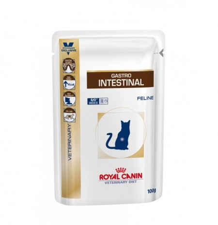 Royal canin wet feline gi intestinal sobre