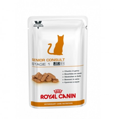 Royal canin wet vet cat senior consult stage 1 sobre