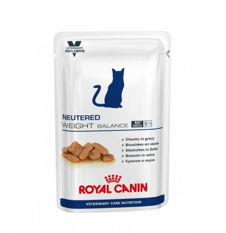 Royal canin wet vet cat weight balance sobre