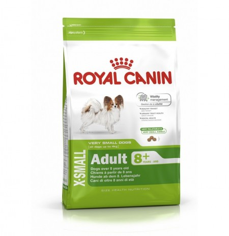 Royal canin x-small adult +10