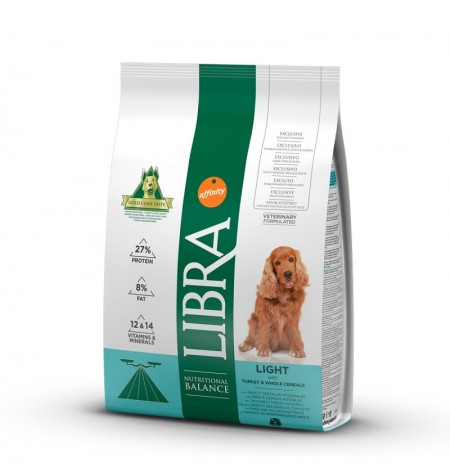 Libra dog light (pavo y cereales)