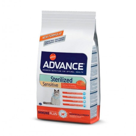 Advance ac gato esterilizado sensible sterilized salmon sensitive (salmón y cebada)