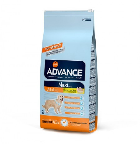 Advance maxi adult chicken & rice (pollo y arroz)