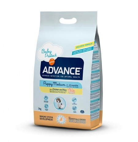 Advance puppy protect medium chicken & rice (pollo y arroz)