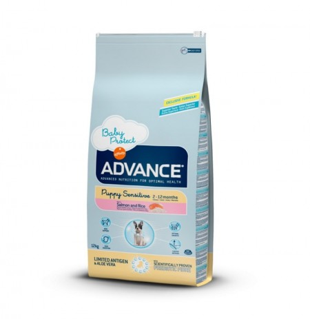 Advance puppy sensitive salmon & rice (salmón y arroz)