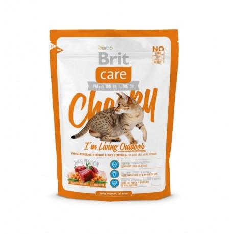 Brit care cat cheeky i'm living outdoor (gatos de exterior)