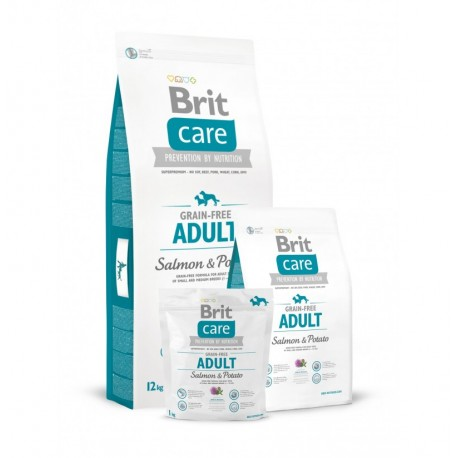 Brit care grain free adult (salmón y patata)