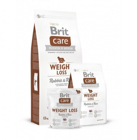 Brit care weight loss (conejo y arroz)