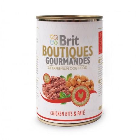 Brit gourmandes chicken pate lata (pollo y paté)