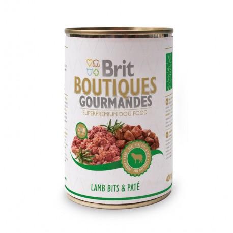 Brit gourmandes lamb pate lata (cordero y paté)