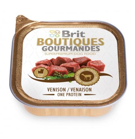Brit gourmandes venado lata