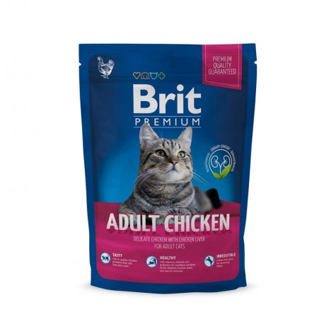 Brit premium cat adult chicken pollo (gatos adultos)