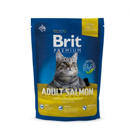 Brit premium cat adult salmon (gatos adultos)