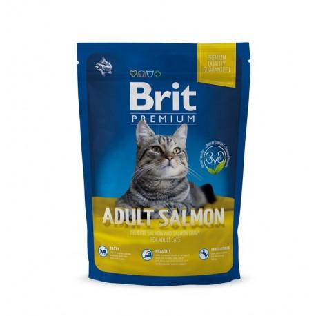 Brit premium cat adult salmon (gatos adultos)