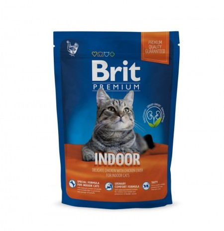 Brit premium cat indoor (gatos de interior)
