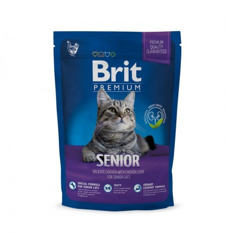Brit premium cat senior (gatos mayores)