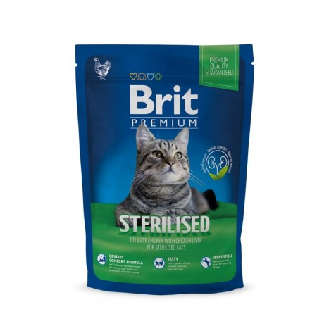 Brit premium cat sterilised (gato esterilizizado)