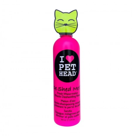Pet head cat de shed me rinse (acondicionador gatos)