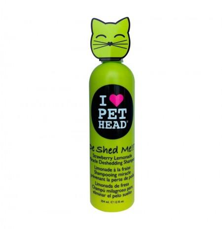 Pet head cat de shed me shampoo (champú gatos)