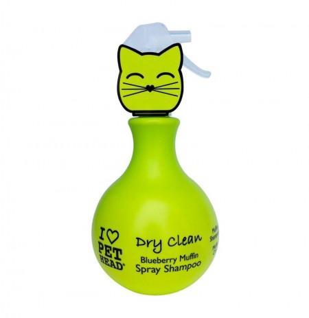 Pet head cat dry clean (champú en seco gatos)
