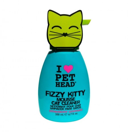 Pet head fizzy kitty mouse cat cleaner
