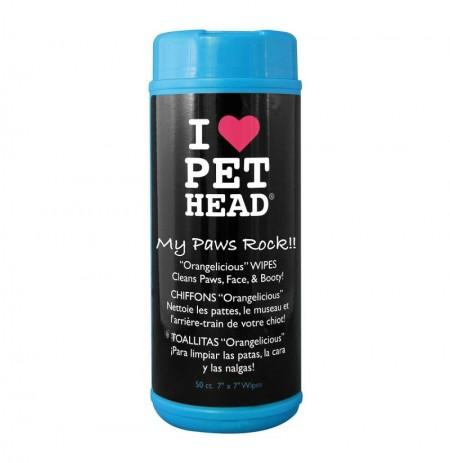Pet head my paws rock (toallitas multifunción)