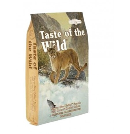 Taste of the wild canyon river cat (trucha y salmón)