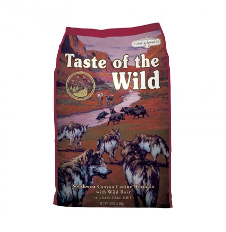 Taste of the wild southwest canyon dog (buey y jabalí)