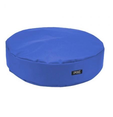 Yagu colchón ronda azulina