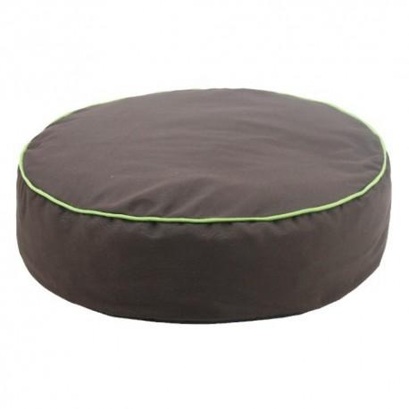 Yagu colchón ronda color chocolate