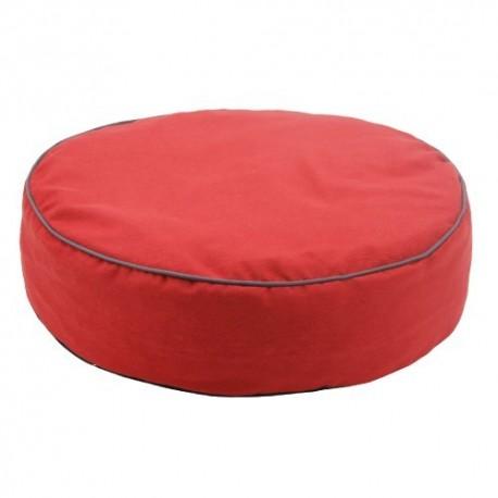 Yagu colchón ronda color rojo