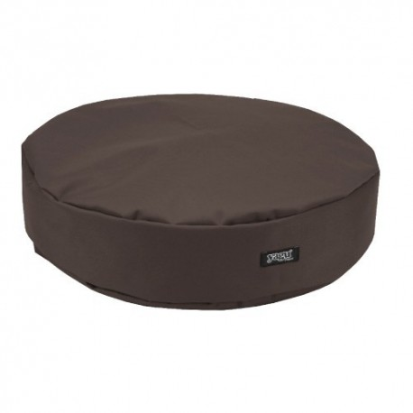 Yagu colchón ronda marrón