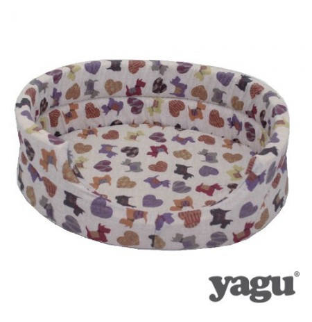 Yagu cuna abierta con cojín doggy