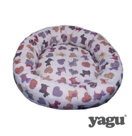 Yagu cuna redonda miau doggy
