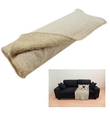 Yagu manta cubre sofá con cojín persa