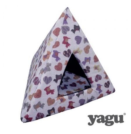 Yagu pirámide espuma doggy