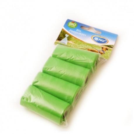 Duvo bolsitas higiénicas biodegradables verdes 4x20