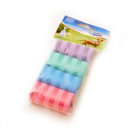 Duvo bolsitas higiénicas pastel a rallas 4x20