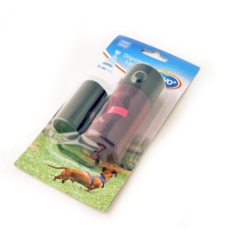 Duvo llavero dispensador lámpara para bolsas higiénicas