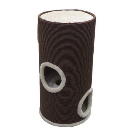 Duvo rascador tower marron para gatos
