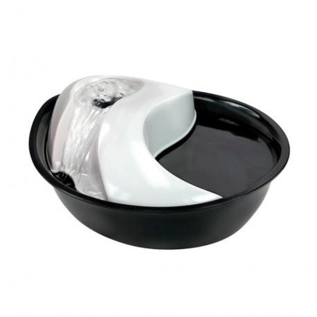 Inodorina fuente de agua para perros y gatos raindrop