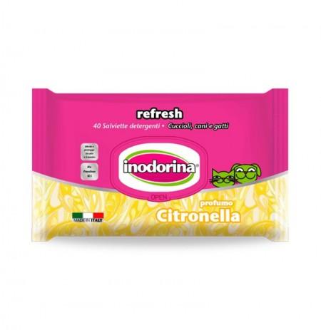 Inodorina refresh toallitas citronella
