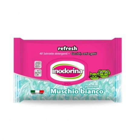 Inodorina refresh toallitas muschio