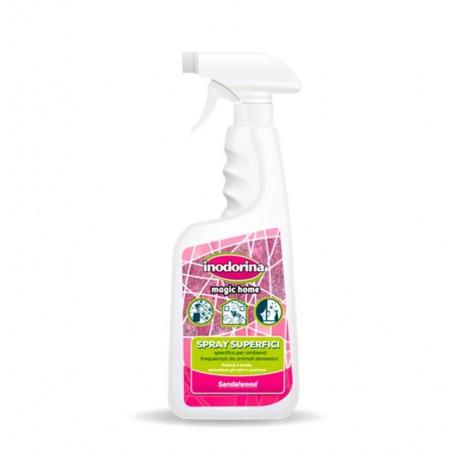 Inodorina spray limpiador superficies sandalwood